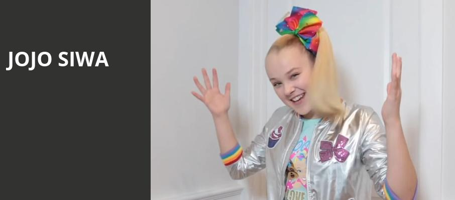 Jojo Siwa, Prudential Center, New York