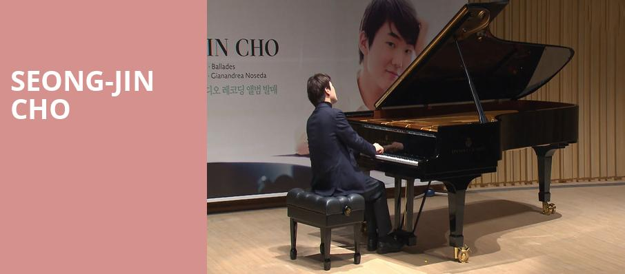 Seong Jin Cho, Isaac Stern Auditorium, New York