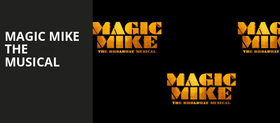 Magic Mike The Musical, Venue To Be Announced, New York