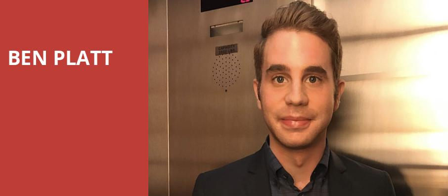 Ben Platt, Radio City Music Hall, New York