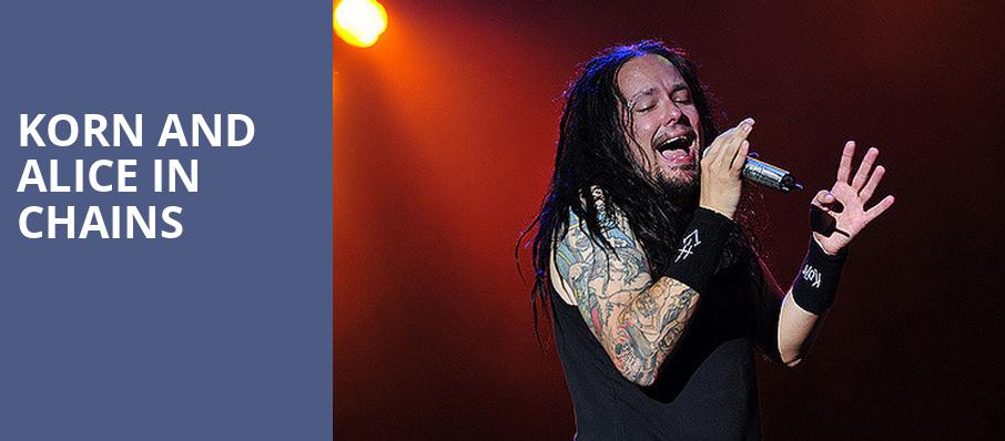 Korn and Alice in Chains, Northwell Health, New York