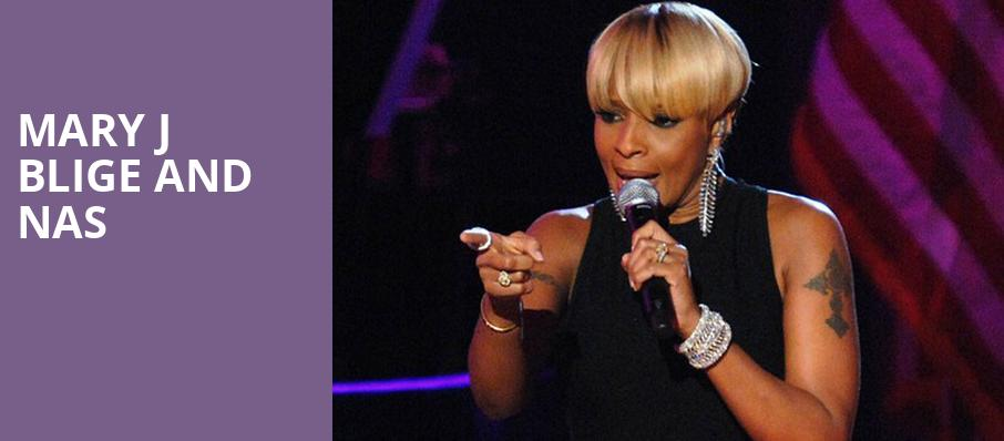 Mary J Blige and Nas, Barclays Center, New York