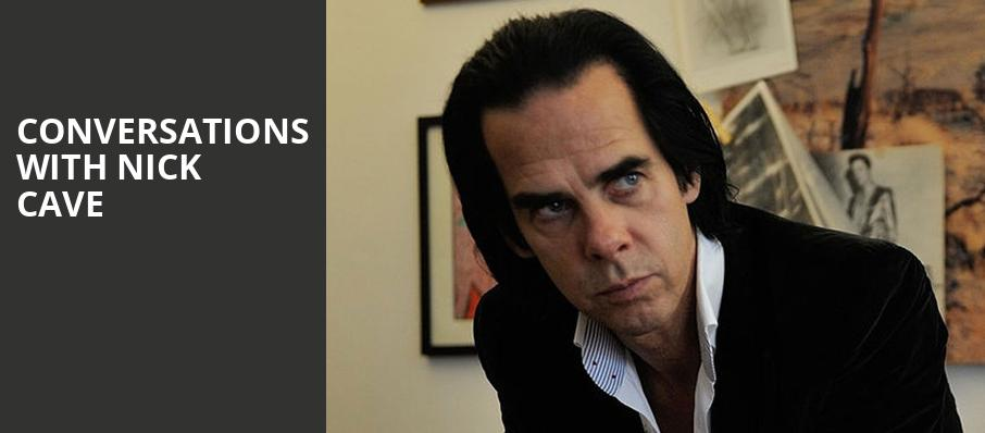 Conversations with Nick Cave, Rose Theater, New York