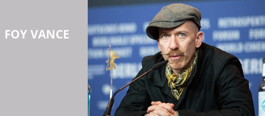 Foy Vance, Skirball Center for the Performing Arts, New York