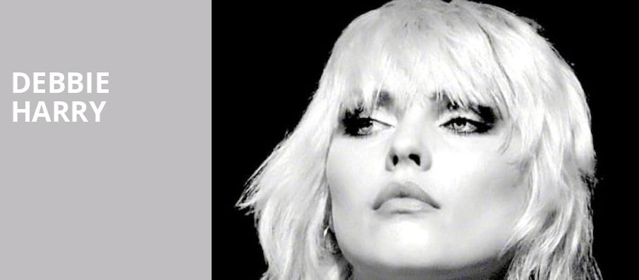 Debbie Harry, Town Hall Theater, New York