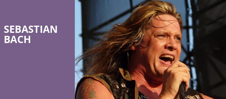 Sebastian Bach, The Space at Westbury, New York