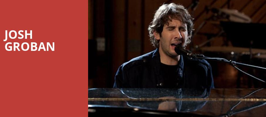 Josh Groban, Radio City Music Hall, New York