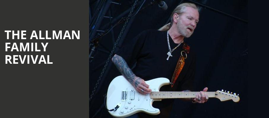 The Allman Family Revival, Beacon Theater, New York