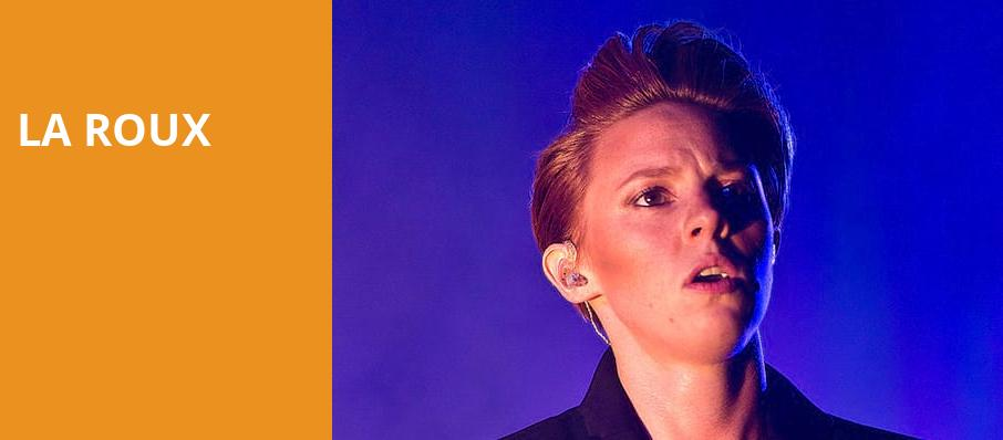 La Roux, Webster Hall, New York
