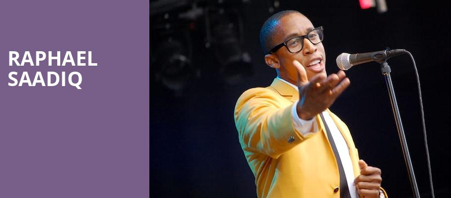 Raphael Saadiq, Victoria Theater, New York