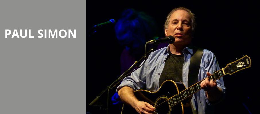 Paul Simon, Madison Square Garden, New York