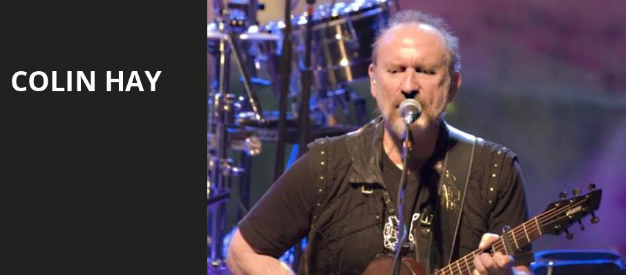 Colin Hay, Tarrytown Music Hall, New York
