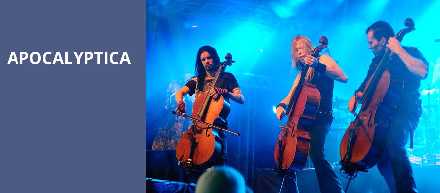 Apocalyptica, Bergen Performing Arts Center, New York