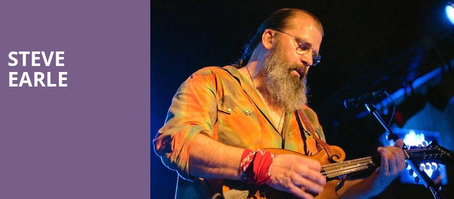 Steve Earle, Town Hall Theater, New York