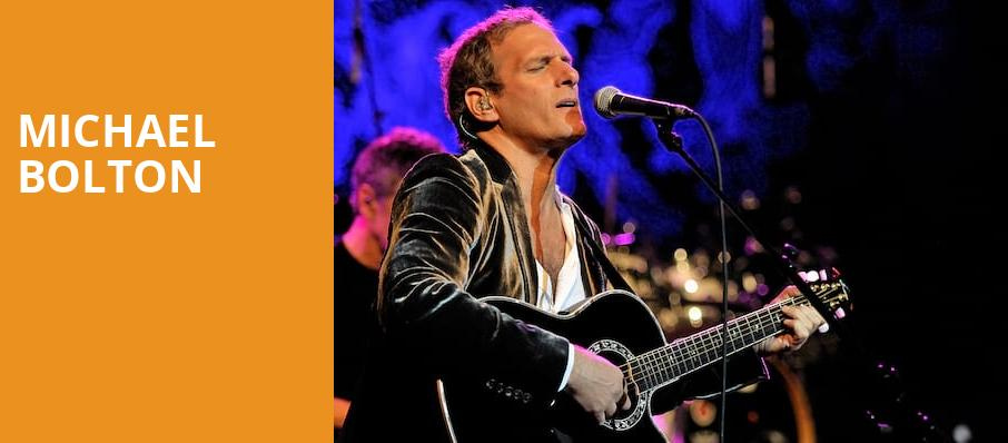 Michael Bolton, Bergen Performing Arts Center, New York