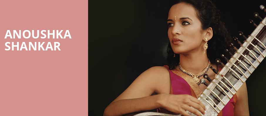 Anoushka Shankar, Town Hall Theater, New York