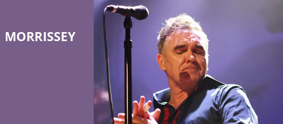 Morrissey, Theater at Madison Square Garden, New York