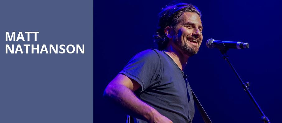 Matt Nathanson, Irving Plaza, New York