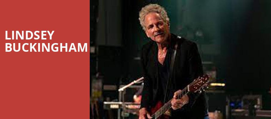 Lindsey Buckingham, Paramount Center For The Arts, New York