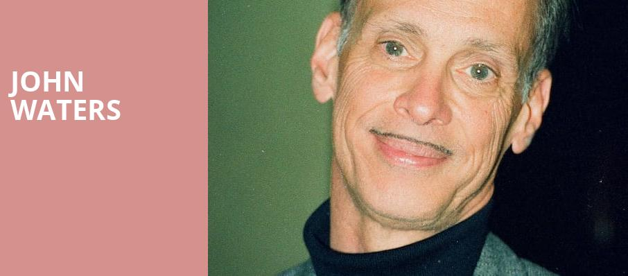 John Waters, Sony Hall, New York