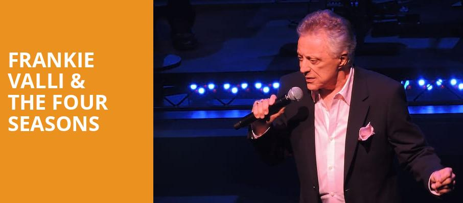 Frankie Valli The Four Seasons, St George Theatre, New York