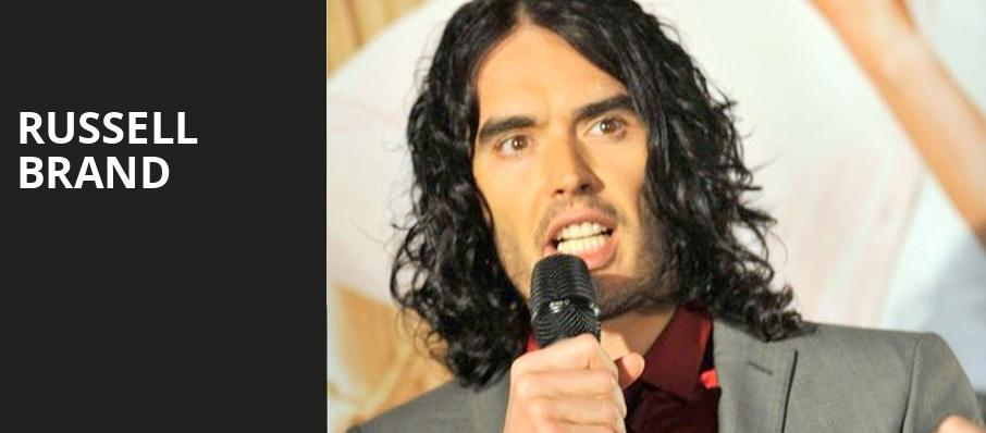 Russell Brand, Town Hall Theater, New York