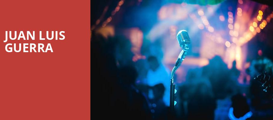 Juan Luis Guerra, Prudential Center, New York