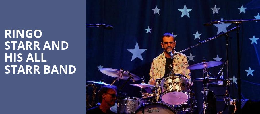 Ringo Starr And His All Starr Band, Hackensack Meridian Health Theatre, New York