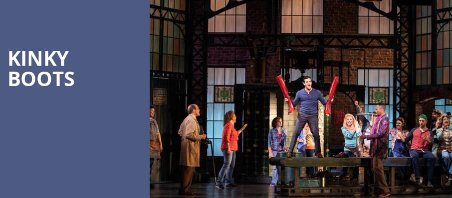 Kinky Boots, Al Hirschfeld Theater, New York