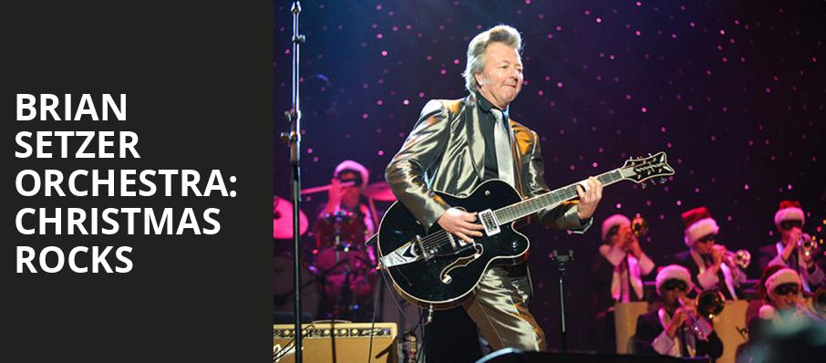 Brian Setzer Orchestra Christmas Rocks, NYCB Theatre at Westbury, New York