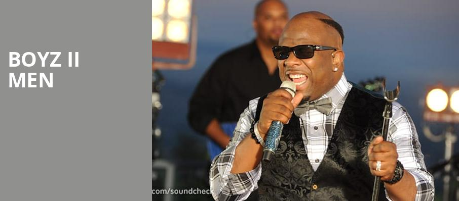 Boyz II Men, NYCB Theatre at Westbury, New York