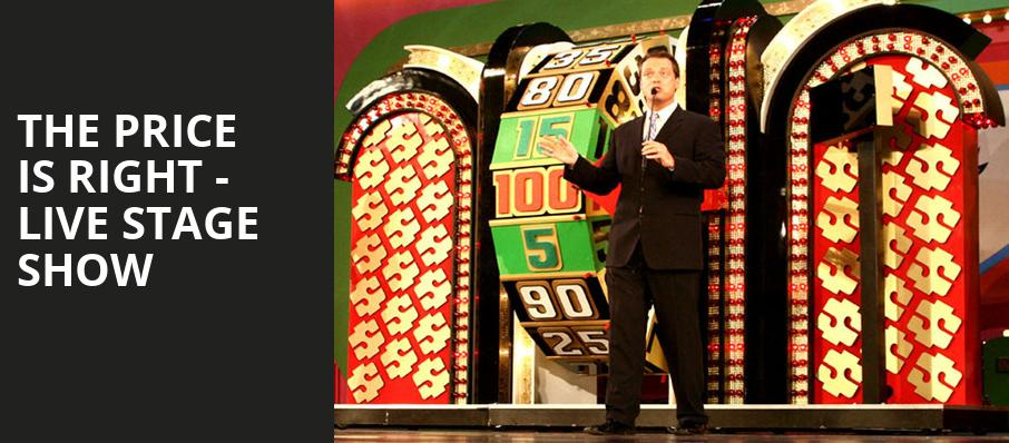 The Price Is Right Live Stage Show, St George Theatre, New York