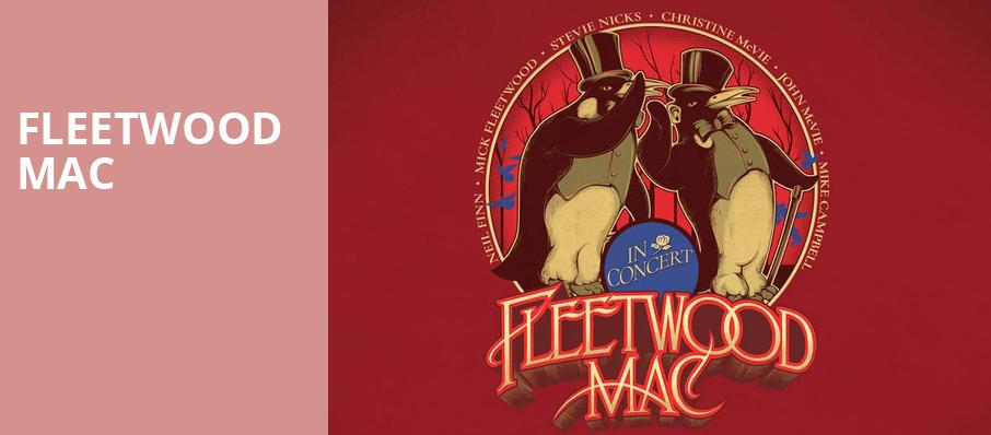 Fleetwood Mac, Prudential Center, New York