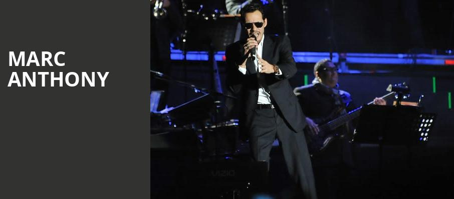 Marc Anthony, Nassau Coliseum, New York