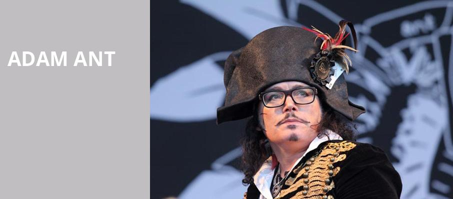 Adam Ant, Paramount Theatre, New York