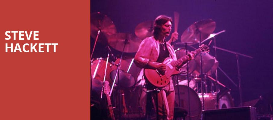 Steve Hackett, Bergen Performing Arts Center, New York