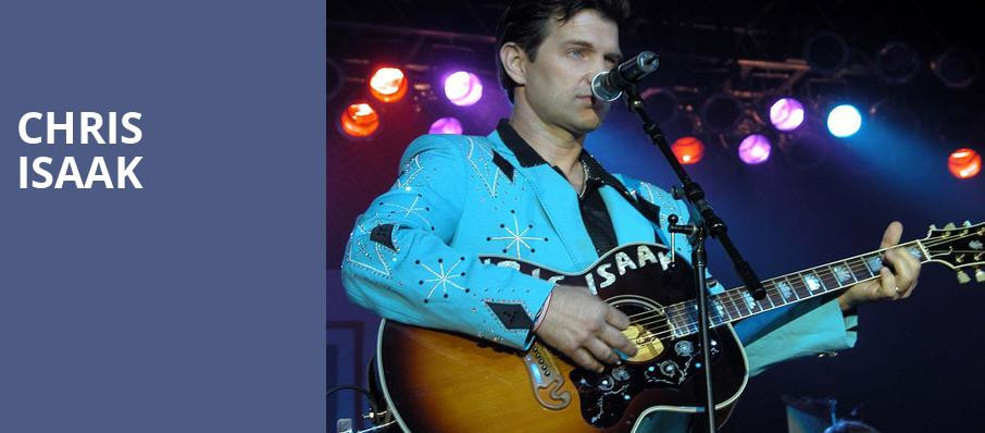 Chris Isaak, Hackensack Meridian Health Theatre, New York