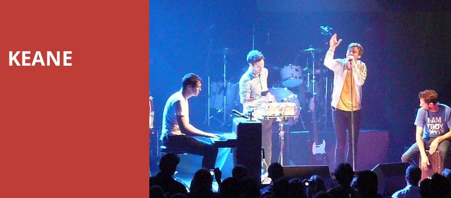 Keane, Beacon Theater, New York