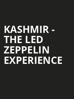 Kashmir The Led Zeppelin Experience, Bergen Performing Arts Center, New York
