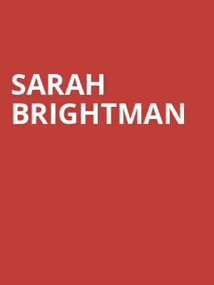 Sarah Brightman, Prudential Hall, New York
