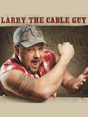Larry The Cable Guy at NYCB Theatre at Westbury
