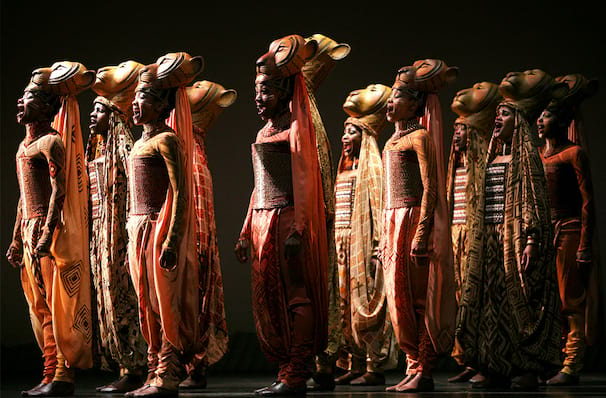 The Lion King At Minskoff Theater New York Ny Awards