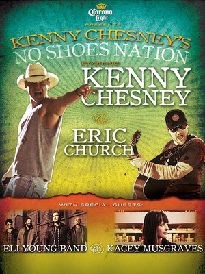Kenny Chesney, Eric Church, Eli Young Band  at Jane Street Theater