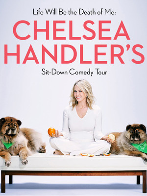 Chelsea Handler at Kaufmann Concert Hall