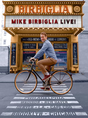 Mike Birbiglia at Isaac Stern Auditorium
