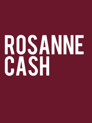 Rosanne Cash at Bergen Performing Arts Center