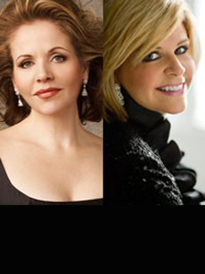 Renee Fleming & Susan Graham at Isaac Stern Auditorium