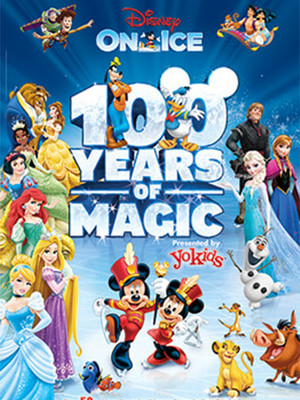 Disney On Ice: 100 Years of Magic at Gallery MC