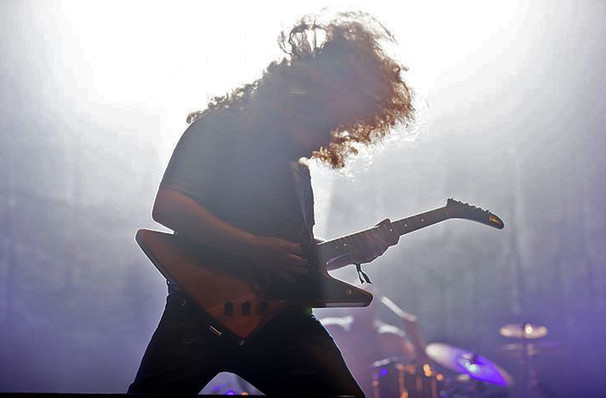 Coheed And Cambria At Theater At Madison Square Garden At Madison Square Garden New York Ny