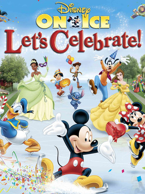 Disney On Ice: Let's Celebrate! at Izod Center